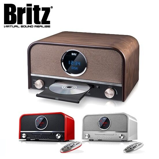 britz all in one retro bluetooth micro speaker cd player. Black Bedroom Furniture Sets. Home Design Ideas
