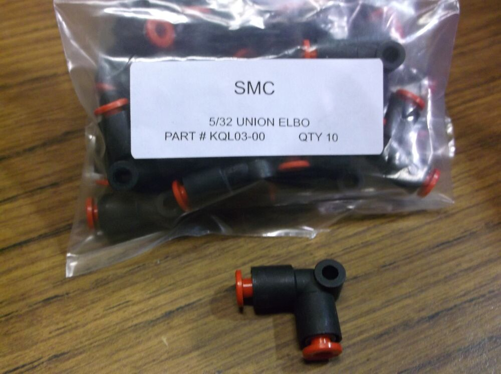 Qty smc kql one touch union elbow quot x