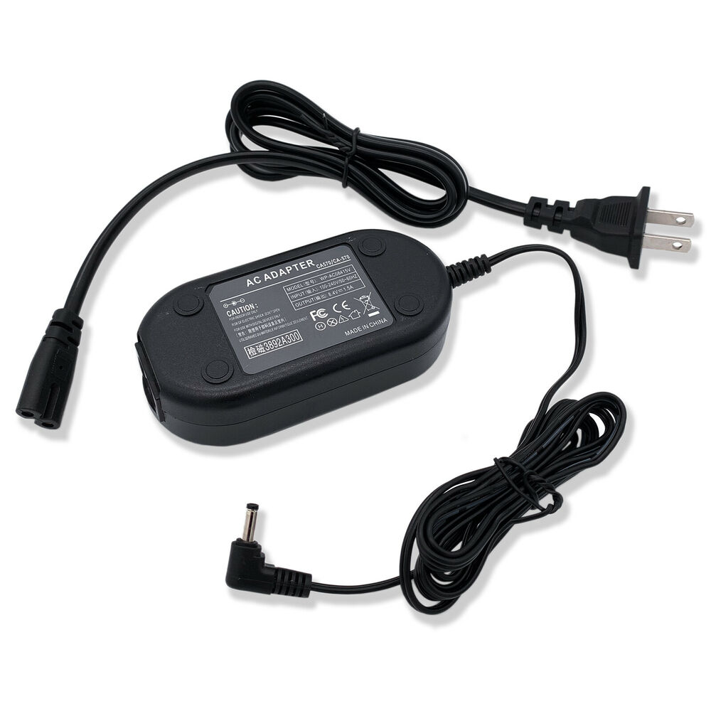 Details about AC Adapter Charger for CANON DC100 DC210 DC220 DC220 DC230  DC310 DVD Camcorder