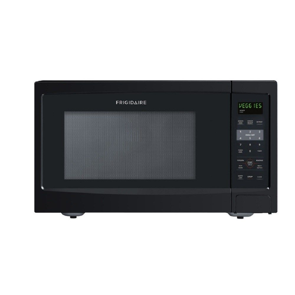 Countertop Microwave At Best Buy : Frigidaire 1.4-cu ft 1100-Watt Countertop Microwave (Black) FFCE1439LB ...