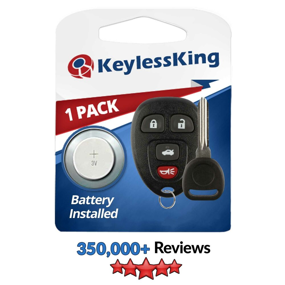 New Replacement Keyless Entry Remote Car Key Fob For