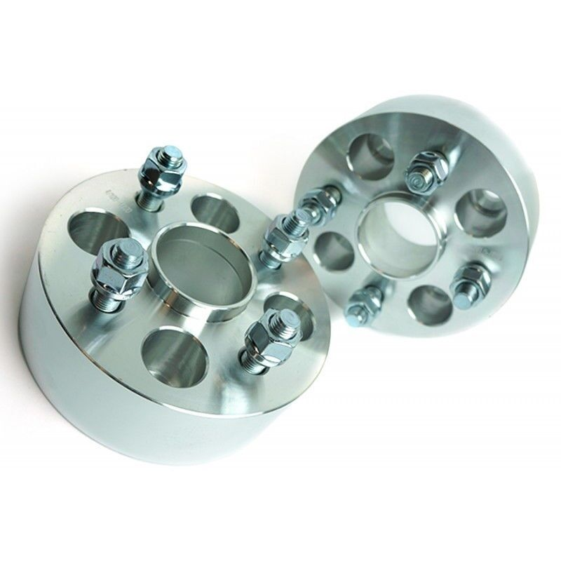 2 Pcs 50MM Wheel Spacers Adapters | 4X100 | 54.1 CB | 12X1 ...