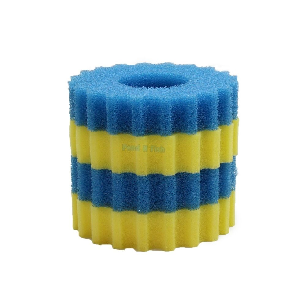 Replacement sponge filter media pad for pressure pond for Pond filter sponges