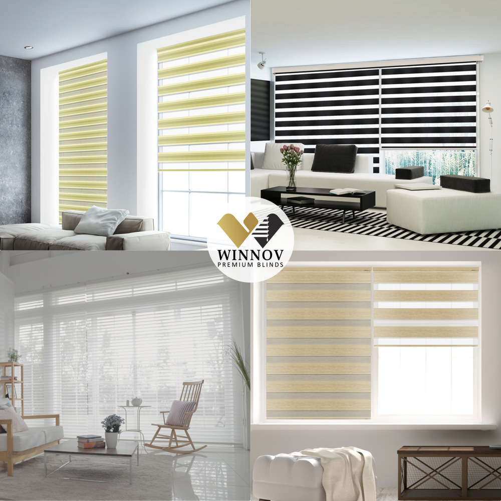 Double Roller Shades : B c double roller blind zebra shade home window