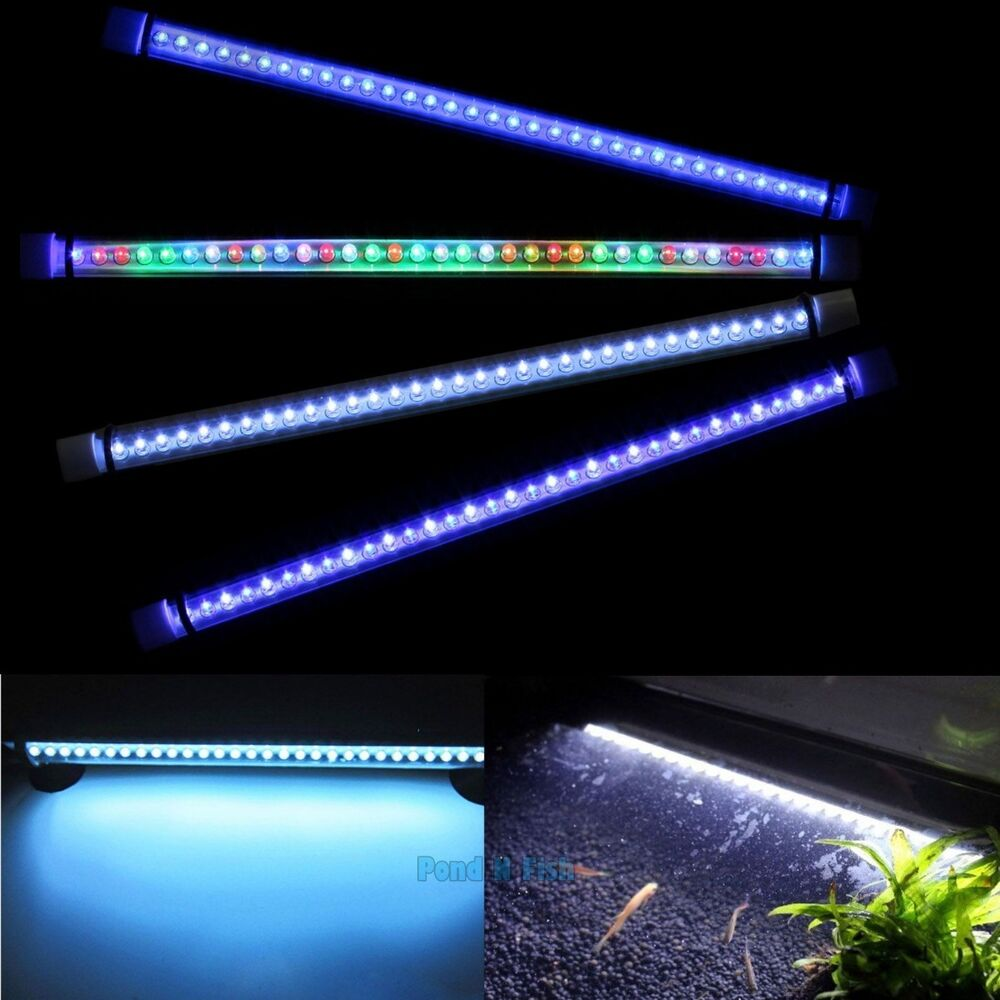 submersible led light strip bar lamp for 24 aquarium fish