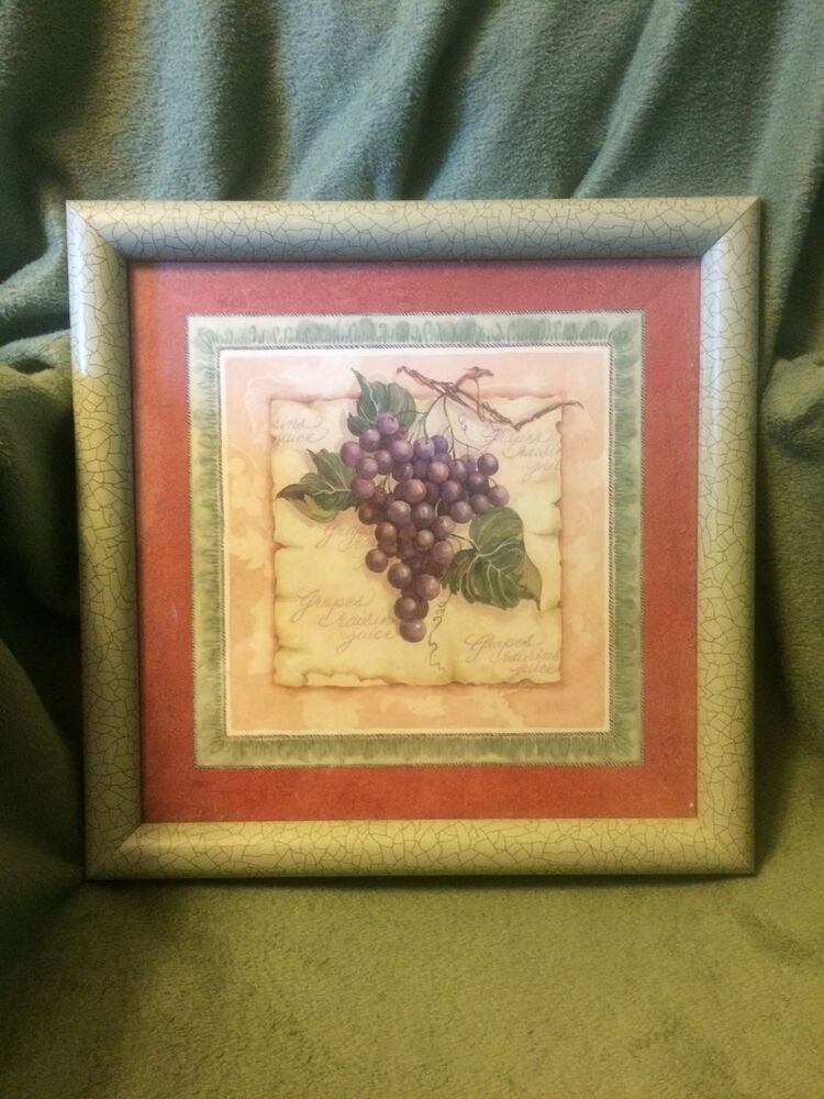 Retired Fruit Pictures By Home Interior Set Of 3 Ebay