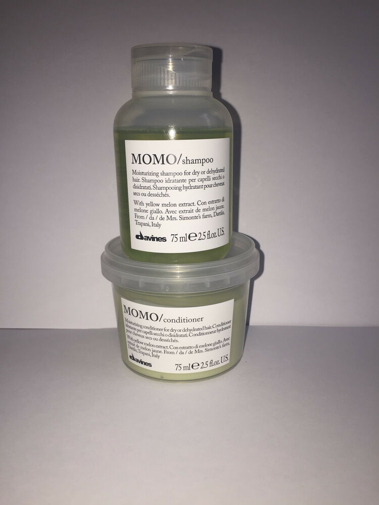 davines momo moisturizing shampoo and conditioner 75ml set ebay. Black Bedroom Furniture Sets. Home Design Ideas