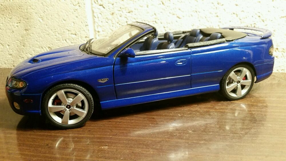 gmp acme 1 18 2006 pontiac gto impulse blue ibm 36 made backyard conversion new ebay. Black Bedroom Furniture Sets. Home Design Ideas