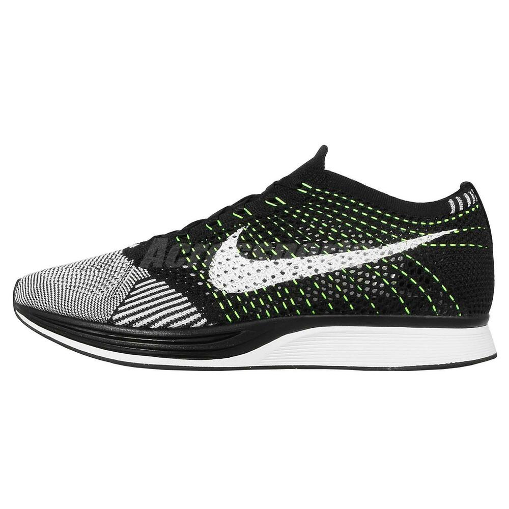 0eb8a201cea7bd Nike Flyknit Racer Blackout Ebay Shoes