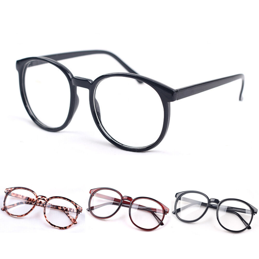 Men Retro Round Frame Vintage New Women Eyeglasses Glasses ...