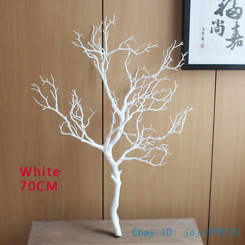 1 pcs artificial plastic small tree dried branch home for Tree twigs decoration