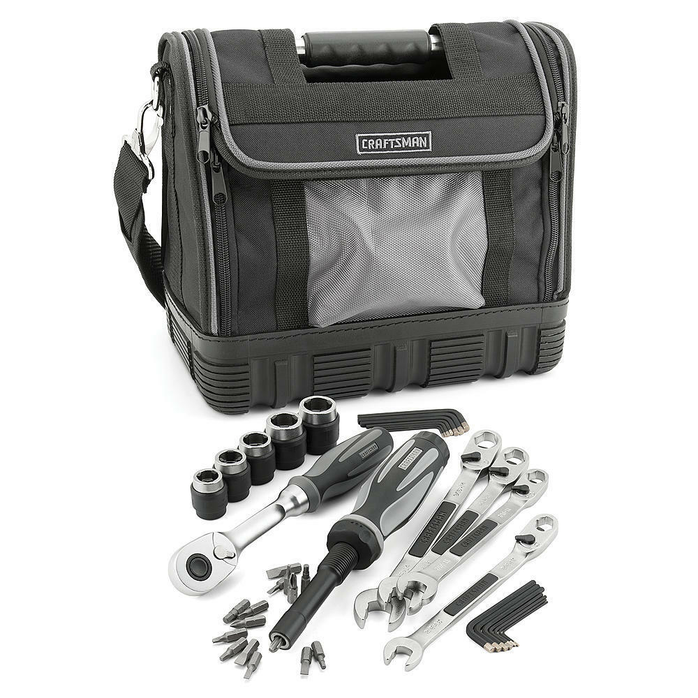 New Craftsman 40 Piece Extreme Grip Mechanics Tool Set