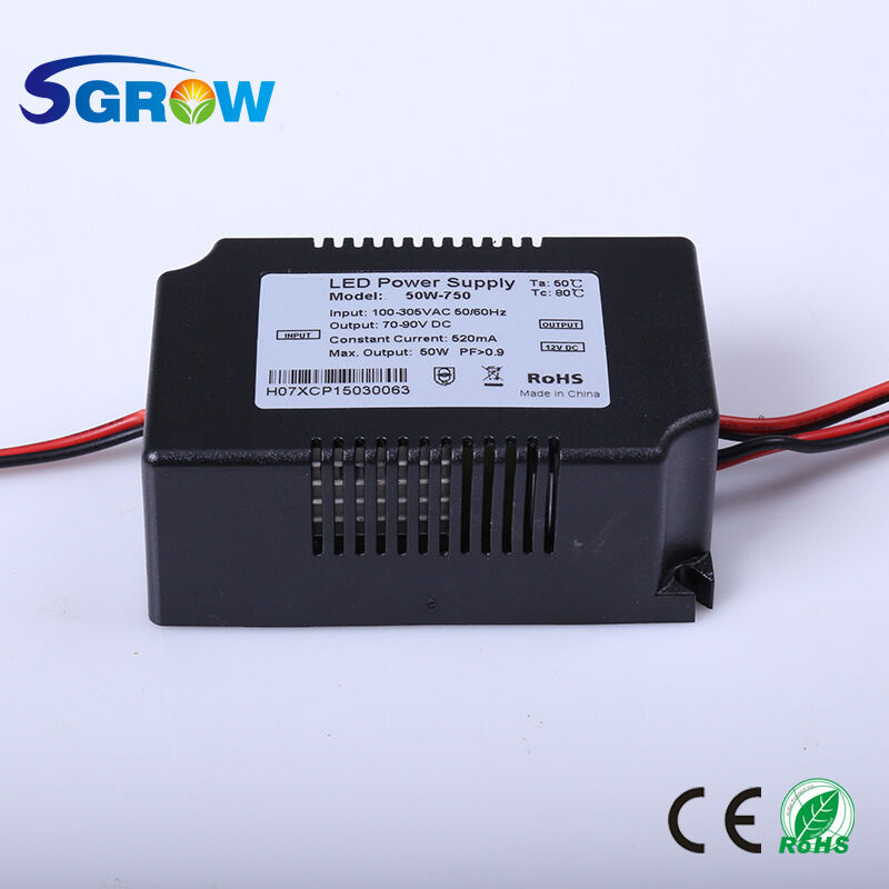 50w Led Driver Power Supply: 50W Constant Current LED Driver DC65-90V 520mA 50W LED