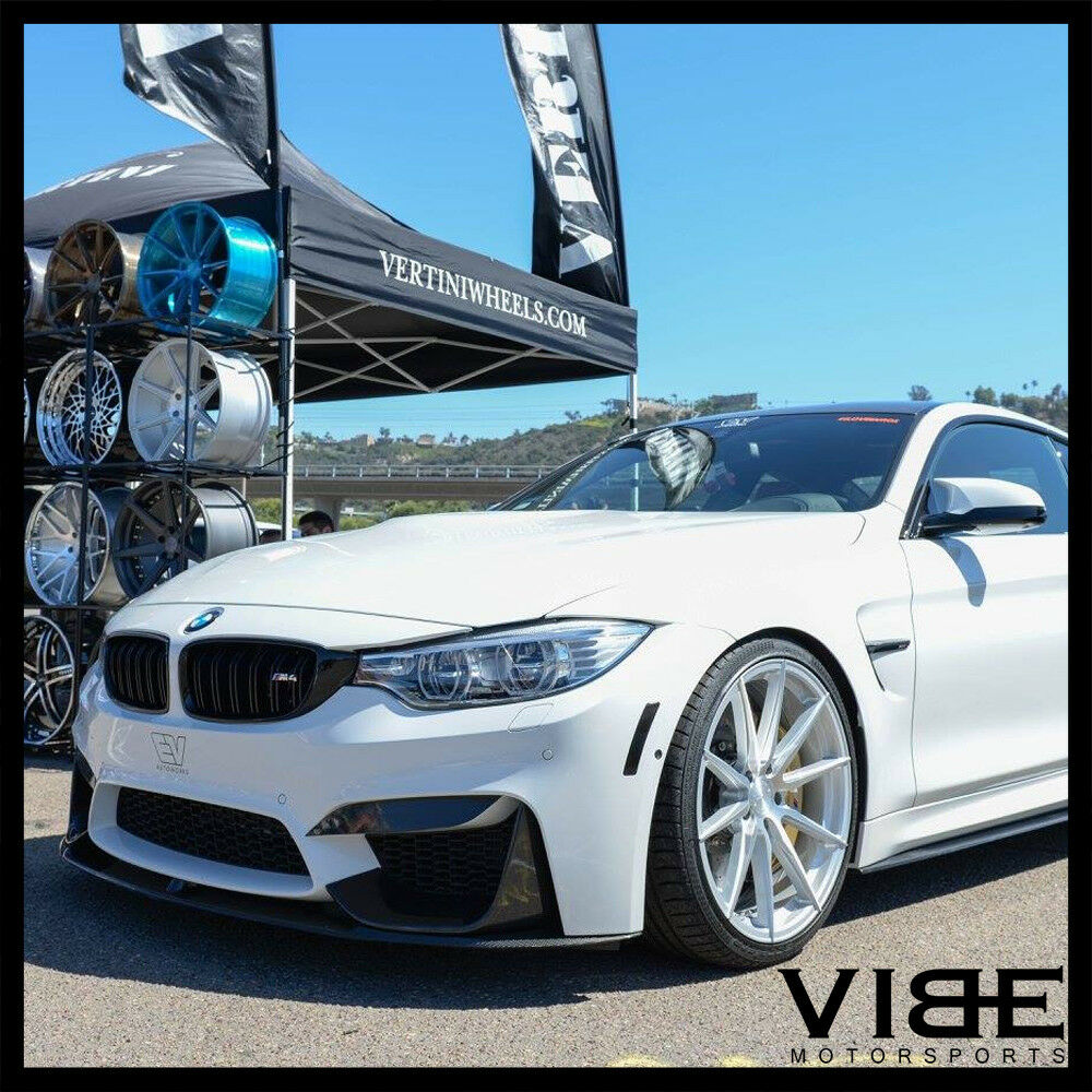19 Quot Vertini Rf1 1 Silver Forged Concave Wheels Rims Fits Bmw E85 E86 Z4m Ebay