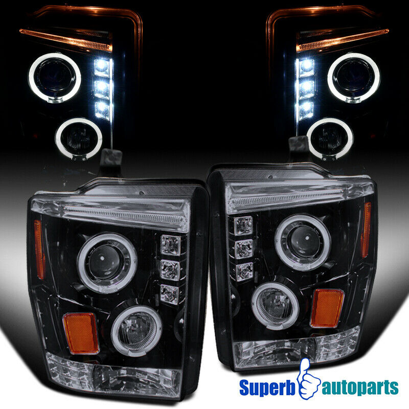 08 F350  F450 Smoke Led Projector Halo