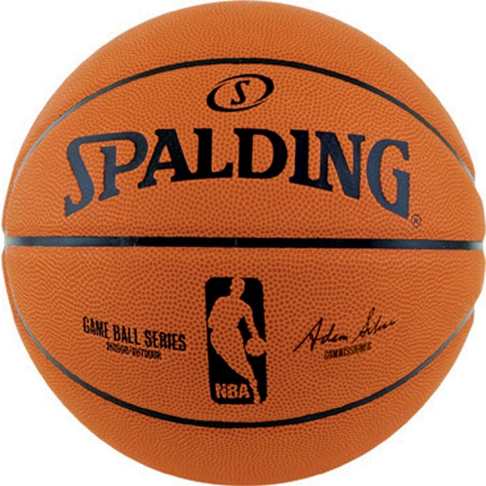 Spalding official nba game ball series composite leather basketball new ebay - Spalding basketball images ...