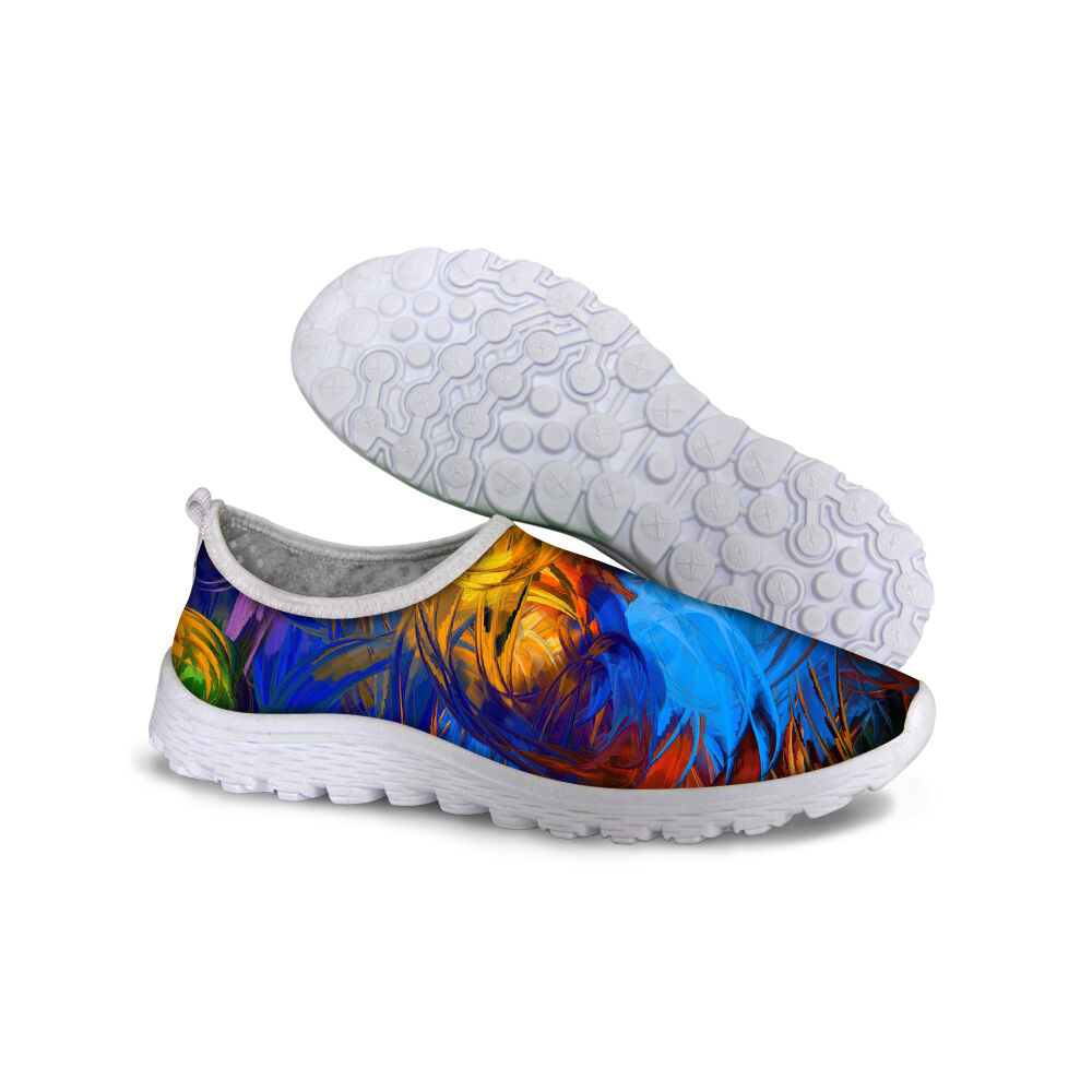 Mens Colorful Running Sneakers Training Casual Tennis