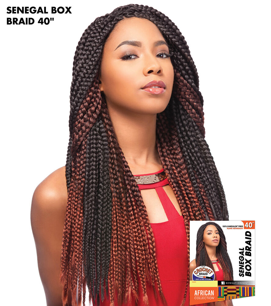 Crochet Braids Ebay : ... BOX BRAID 40 - SENSATIONNEL CROCHET BRAIDING HAIR EXTENSION eBay