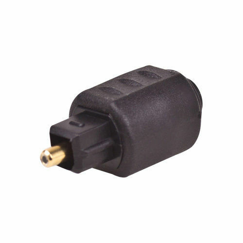 1x Optical 3 5mm Female Mini Jack Plug To Digital Toslink