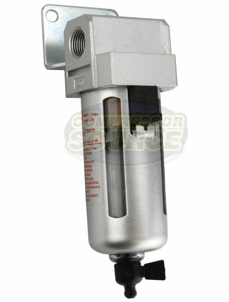 Inline Air Compressor : Quot compressed air in line moisture water filter trap