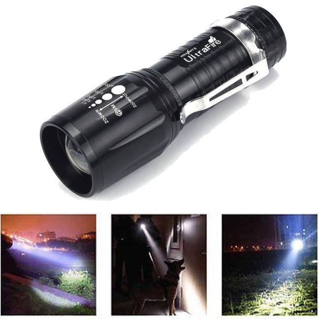 Ultrafire 2200 Lumens CREE XM-L T6 LED Taschenlampen Power ...