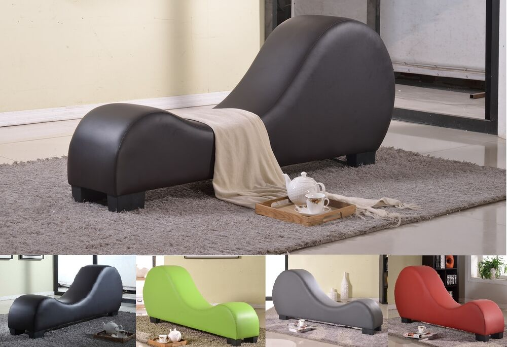5 colors leather yoga chair stretch relax sex chair chaise for Furniture yoga