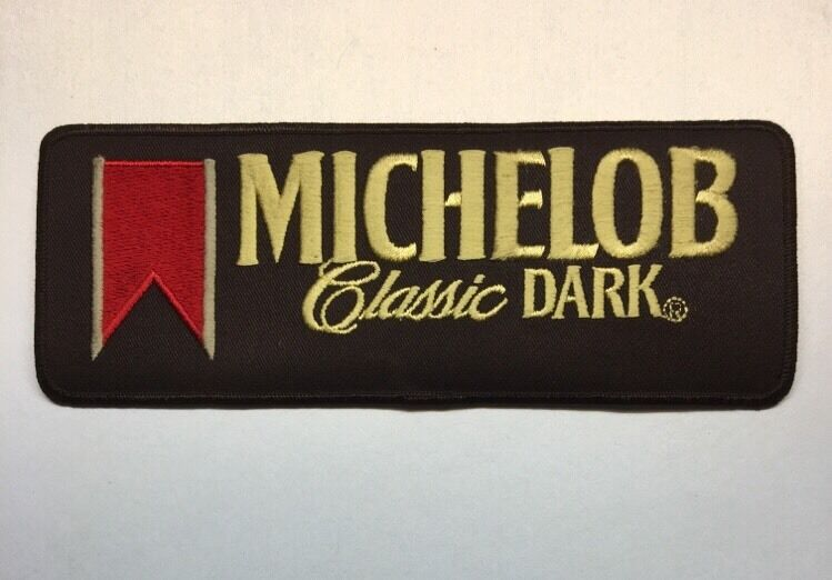 michelob classic dark anheuserbusch logo beer patch