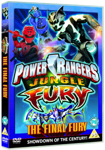 Power Rangers Jungle Fury Volume