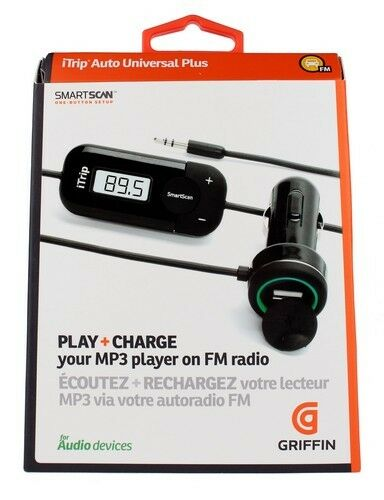 griffin itrip auto universal plus fm transmitter for ipod. Black Bedroom Furniture Sets. Home Design Ideas