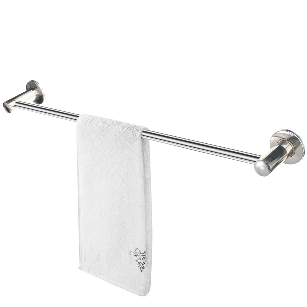 Wall mounted bathroom bath rack holder storage shelf towel - Bathroom shelves stainless steel ...