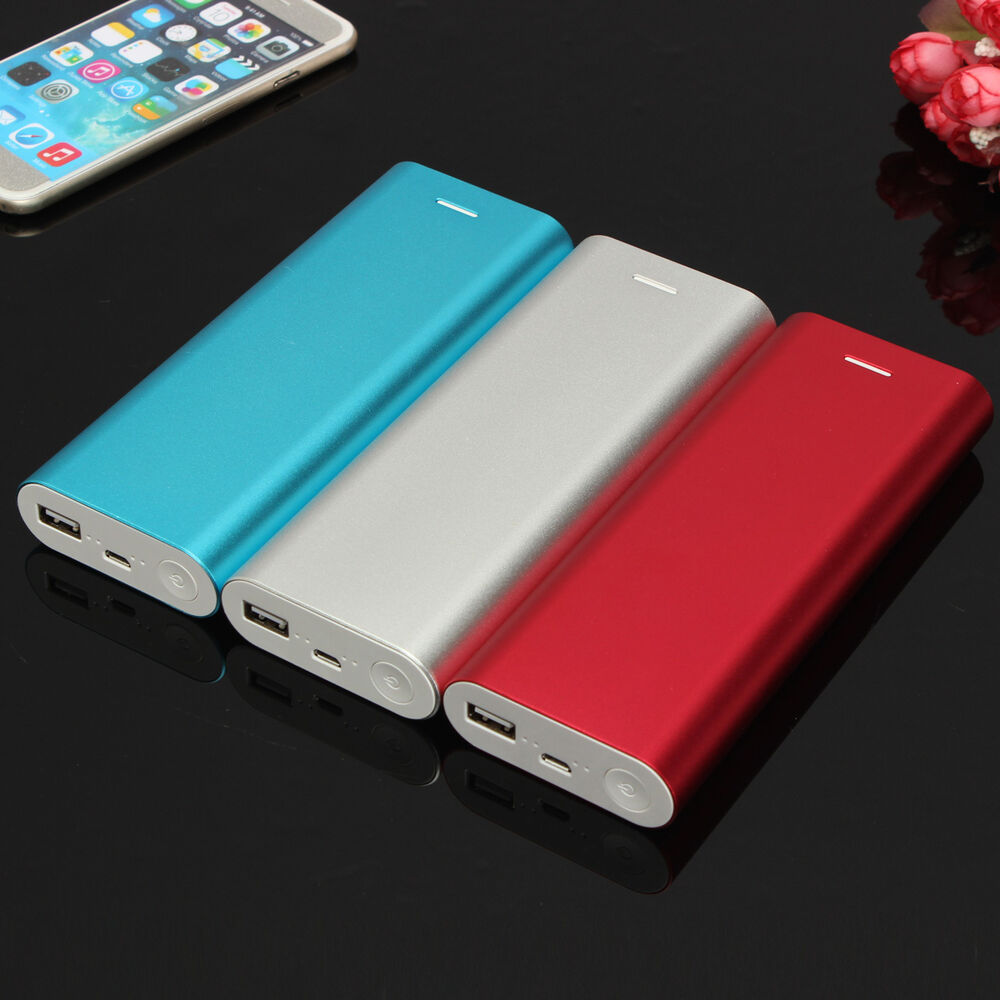 iphone 5a case 15000mah 5v 1 5a power bank kit 6x 18650 battery 11068