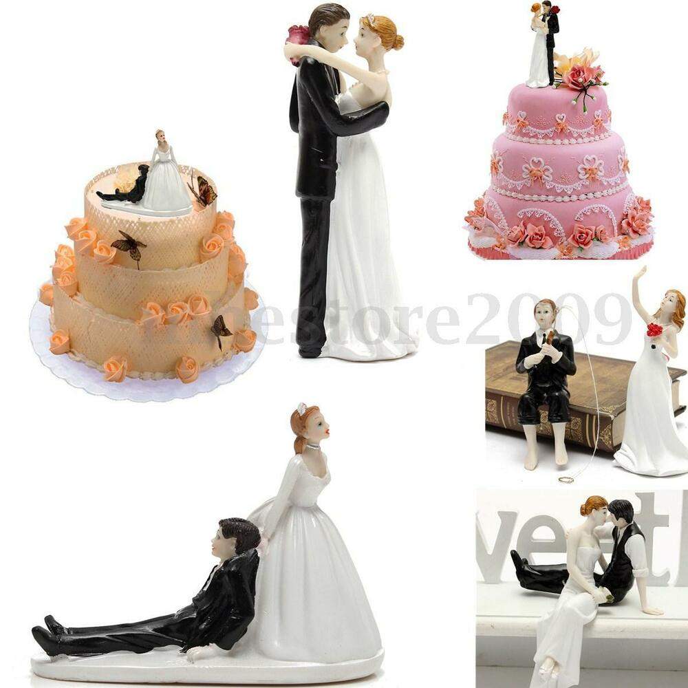 bride and groom figurines for wedding cakes and groom wedding figurine 12121