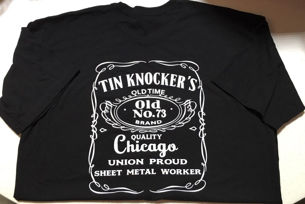 Union Sheet Metal Worker T Shirt Xxl Ebay