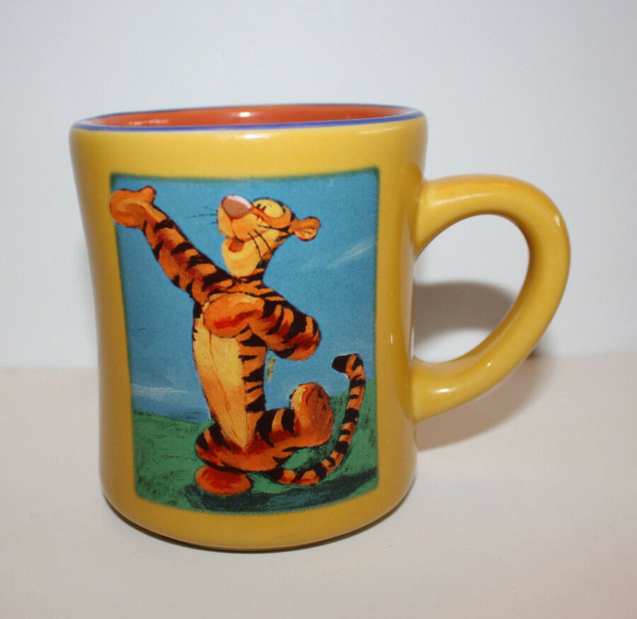 Disney Tigger Large Coffee Cup Mug Ceramic Ebay