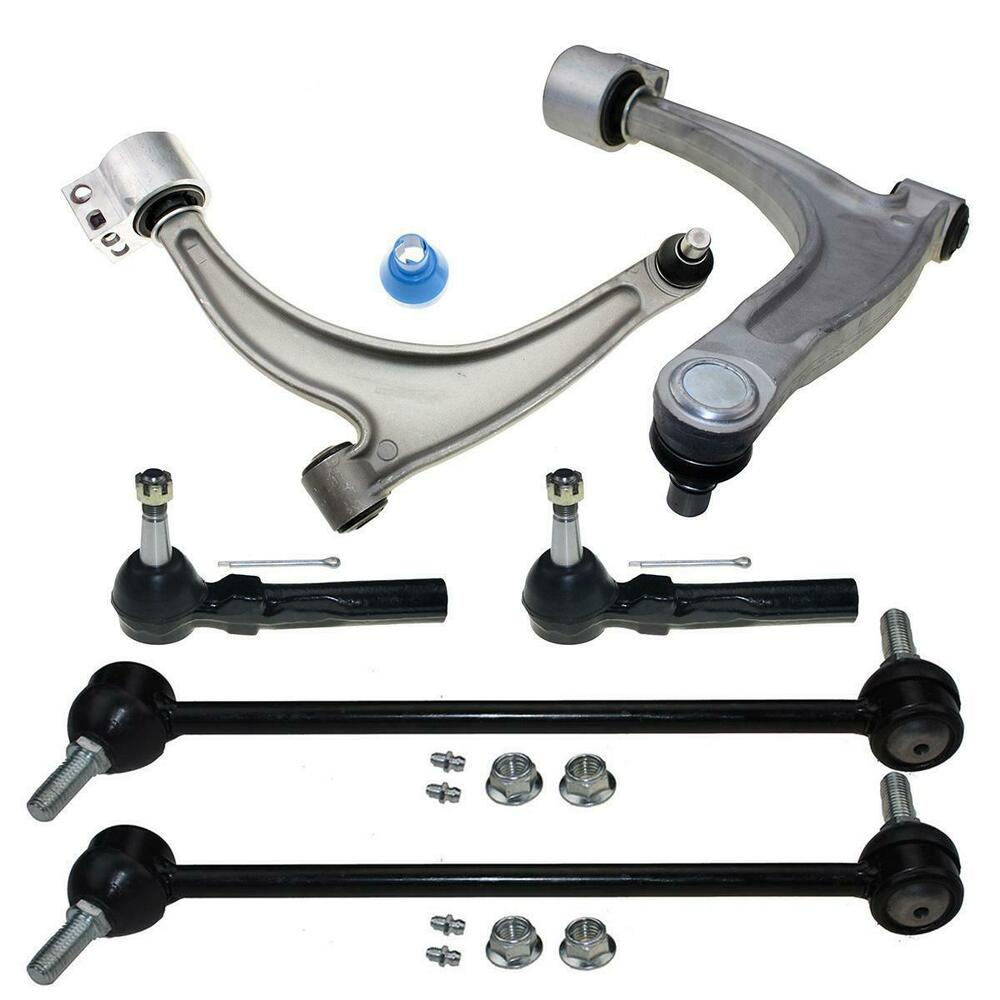 For Chevy Malibu G6 Aura 6pc Front Lower Control Arm Ball