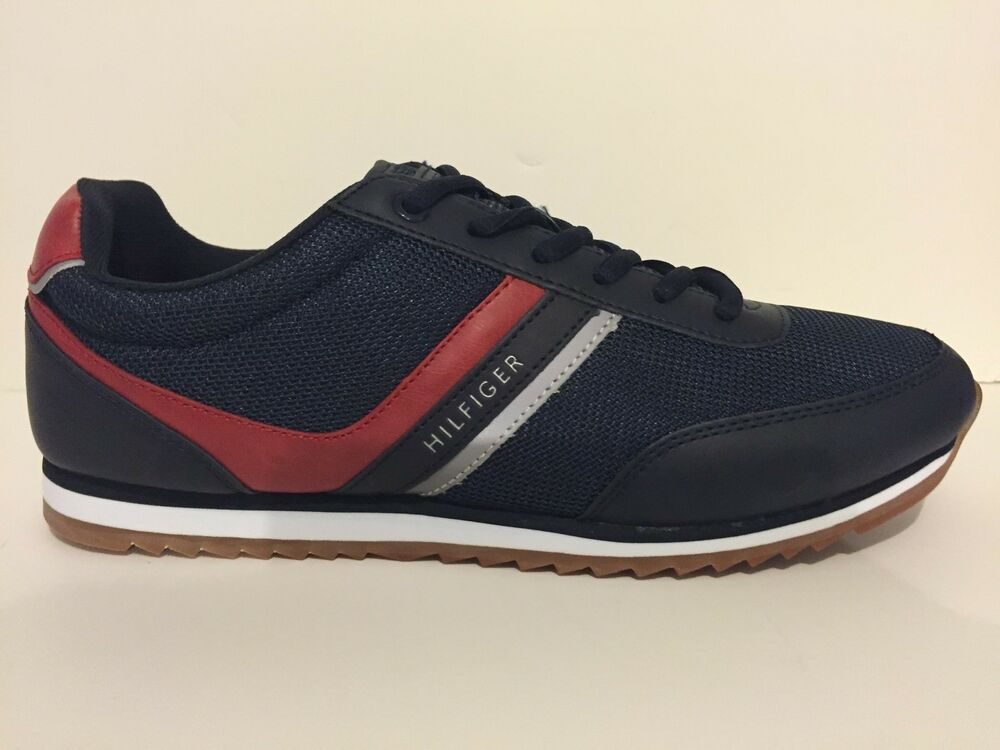 tommy hilfiger fairhaven men 39 s casual fashion sneakers blue ebay. Black Bedroom Furniture Sets. Home Design Ideas