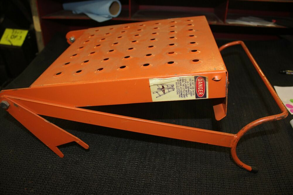 Step Ladder Step Stool Fold Out Work Platform Tool Paint