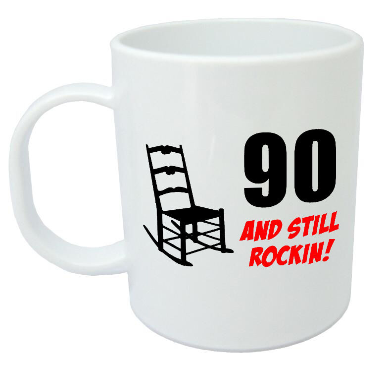 90 Still Rockin Mug 90th birthday gifts for men women gift ideas for him her | eBay  sc 1 st  eBay & 90 Still Rockin Mug 90th birthday gifts for men women gift ideas ...