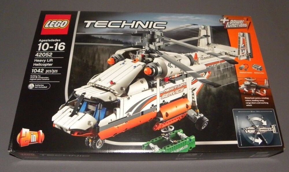 lego technic heavy lift helicopter set 42052 w power functions 2 in 1 new 5702015592062 ebay. Black Bedroom Furniture Sets. Home Design Ideas