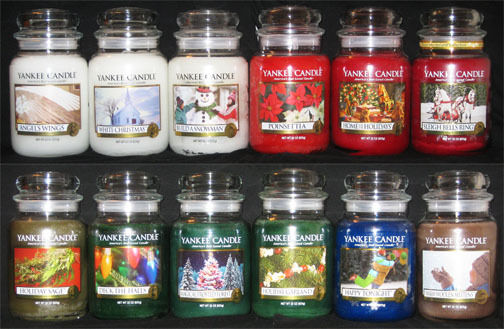 Yankee Candle - (1) 22 oz Jar - CHRISTMAS SCENTS - MANY ...