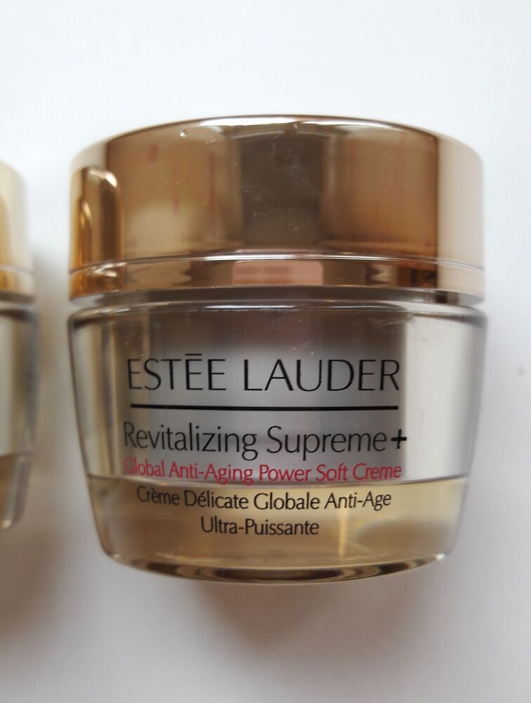 estee lauder revitalizing supreme global anti aging creme 15ml ebay. Black Bedroom Furniture Sets. Home Design Ideas