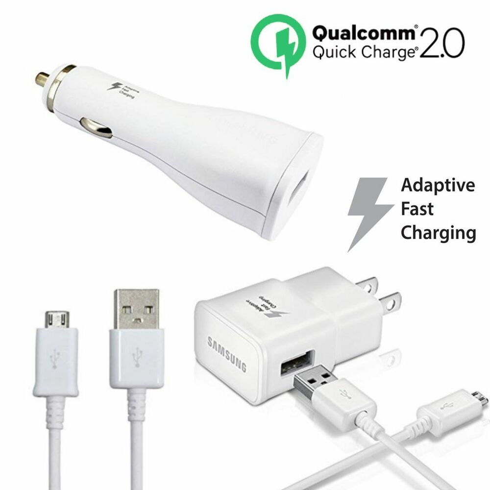 Samsung Quick Charge 2 0 Car Wall Travel Charger Adaptive