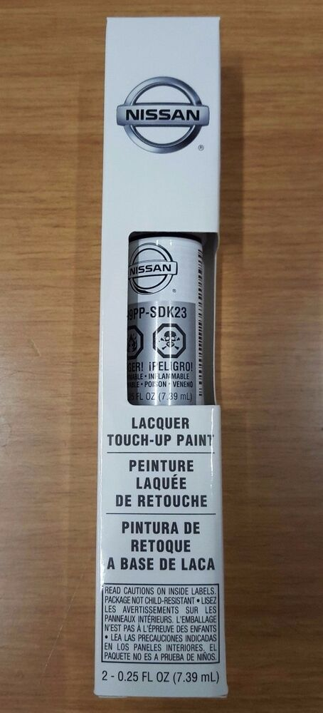 """Free Scratch Cards >> OEM Nissan Touch-Up Paint + Clear Coat """"BRILLIANT SILVER ..."""