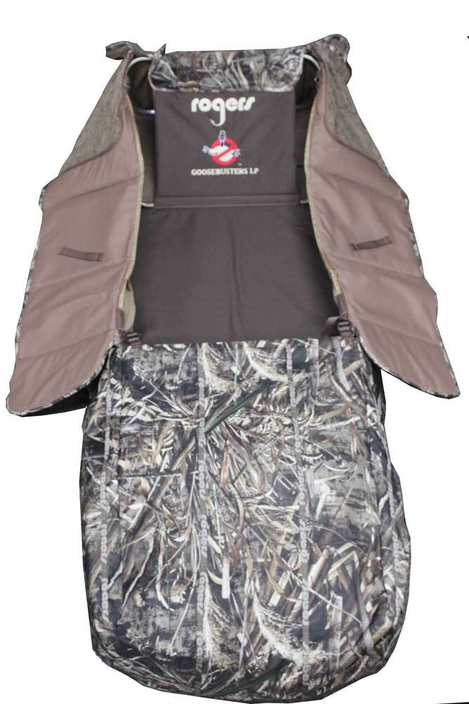 Rogers Goosebusters Lp Layout Blind In Realtree Max 5