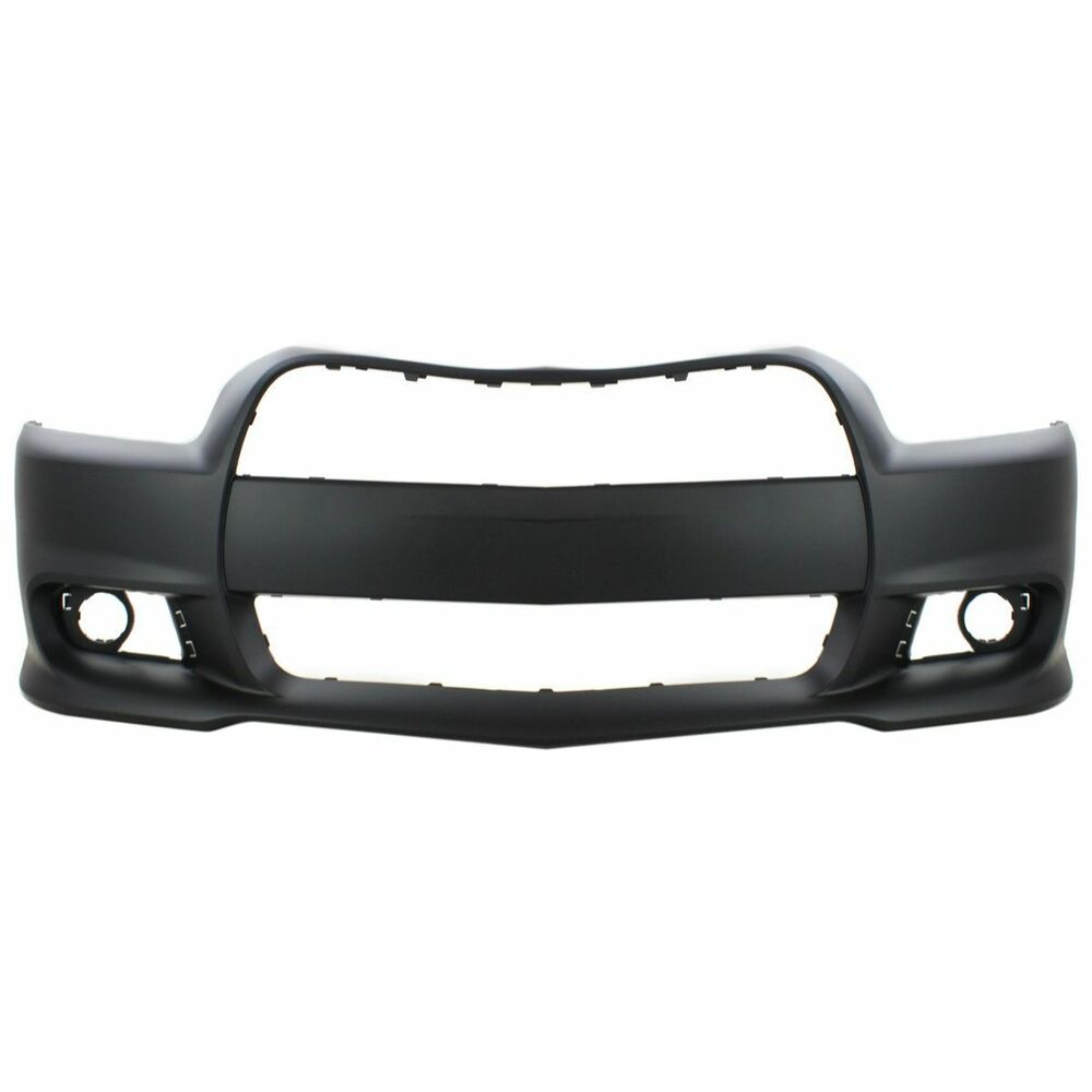 dodge charger 2012 2014 front new bumper cover srt8 prim. Black Bedroom Furniture Sets. Home Design Ideas