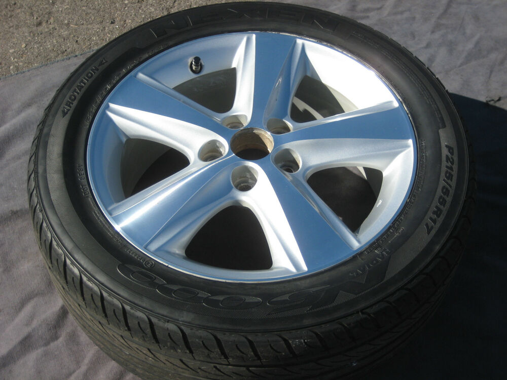1 single used 17 factory toyota camry oem wheel rim tire 2010 11 ebay. Black Bedroom Furniture Sets. Home Design Ideas