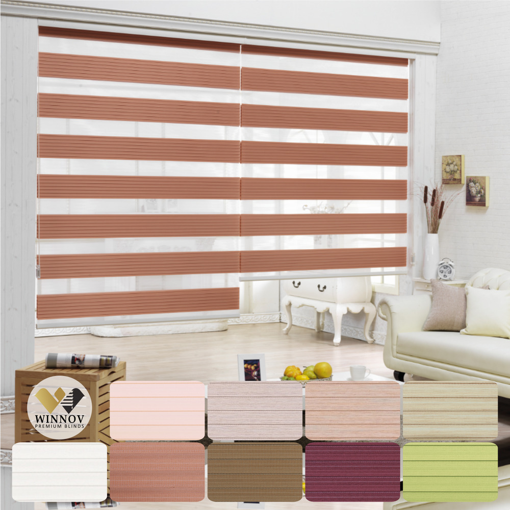 B c t zebra shade home window blind customer size order for Window shades for homes