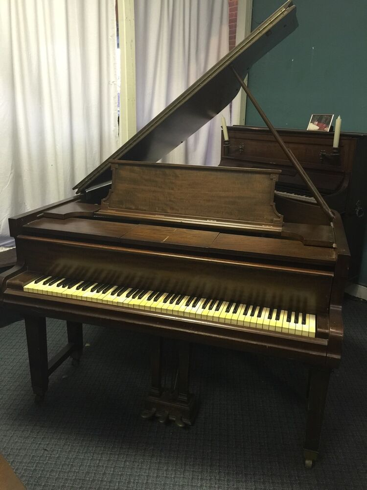 Weber Duo Art Grand Reproducing Player Piano Ebay