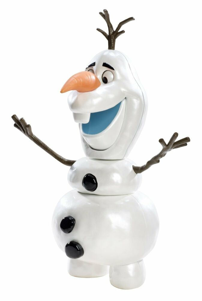 olaf the snowman pull apart and funny faces toy action figure disney 39 s frozen ebay. Black Bedroom Furniture Sets. Home Design Ideas