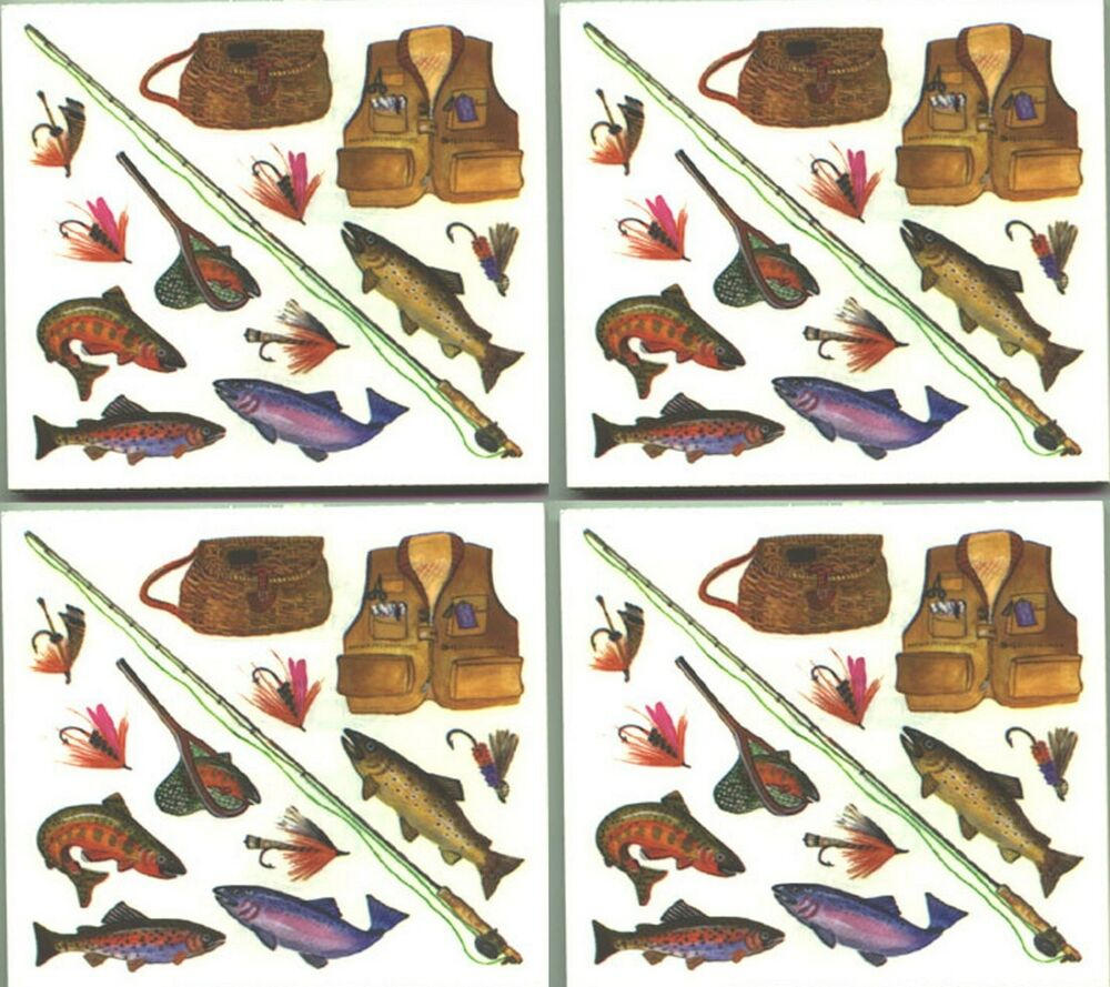 Frances meyer fishing scrapbook 4 sheets stickers fish for Free fishing stickers